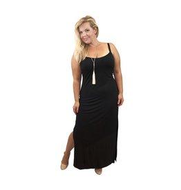 Lee Lee's Valise Kathleen Maxi Dress in Black