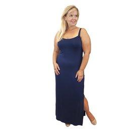 Lee Lee's Valise Kathleen Maxi Dress in Evening Blue