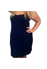 Lee Lee's Valise Sophia Dress in Evening Blue