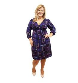Lee Lee's Valise Lauren Dress in Hatchi