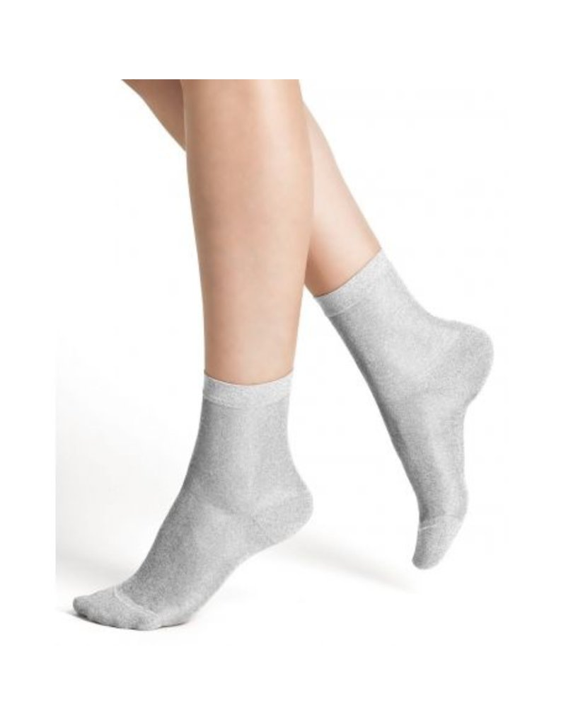 Bleuforet Shiny Effect Cotton Ankle Socks