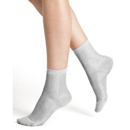 Bleuforet Shiny Effect Cotton Ankle Socks