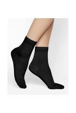 Bleuforet Lacy SIlk Ankle Socks