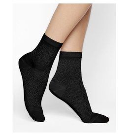 Bleuforet Lacy SIlk Ankle Socks