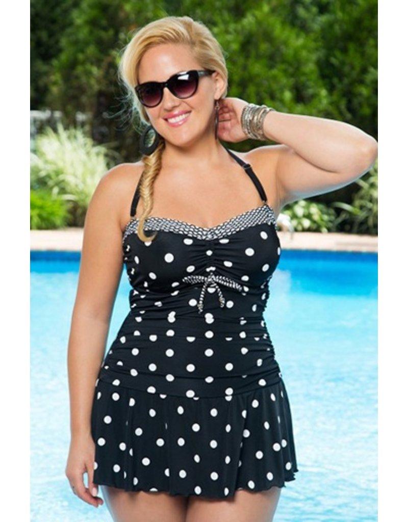 Always For Me Daphne Plus Swim Dress