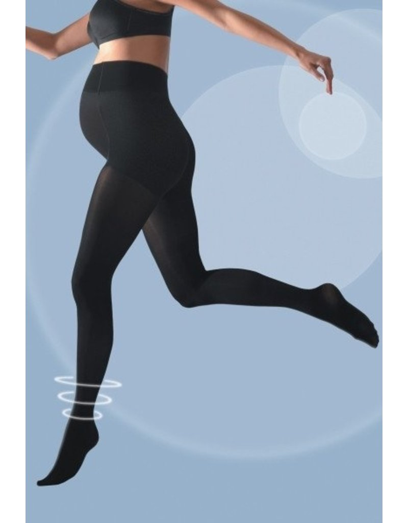 Cache Coeur Activ'soft Maternity Opaque Tights