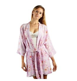 Rusalka Silk Printed Robe