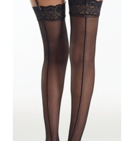Commando Sexy Up All Night Thigh High With Backseam