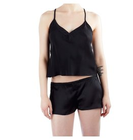 Rusalka Silk Camisole and Shorts Set