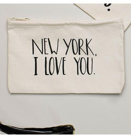 Lovewild Design New York, I Love You Pouch