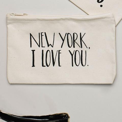 Lovewild Design New York, I Love You Pouch