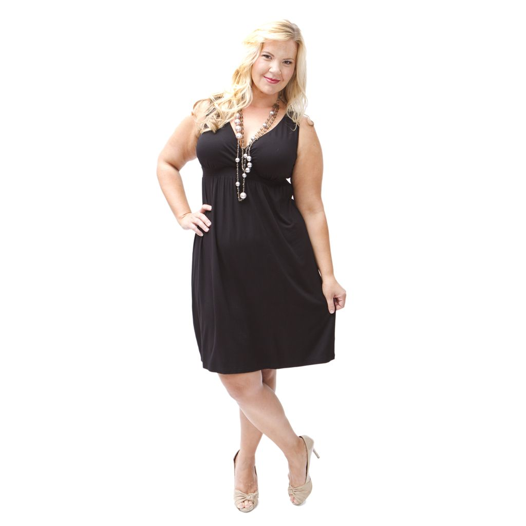 Lee Lee's Valise Lulu Dress 4x Black