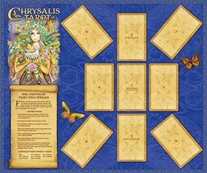 U.S. Game Systems, Inc. Chrysalis Tarot Deck and Book Set