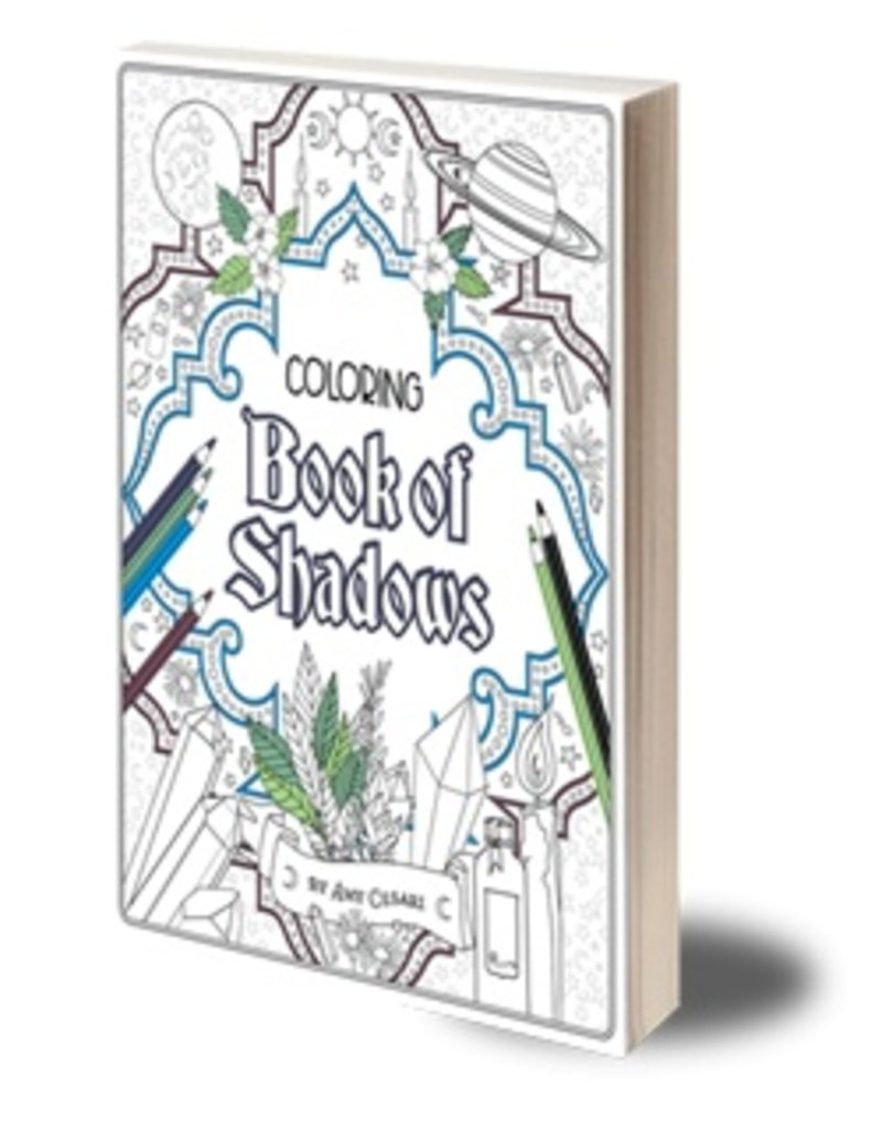 witchcrafty publishing coloring book of shadows - How To Publish A Coloring Book
