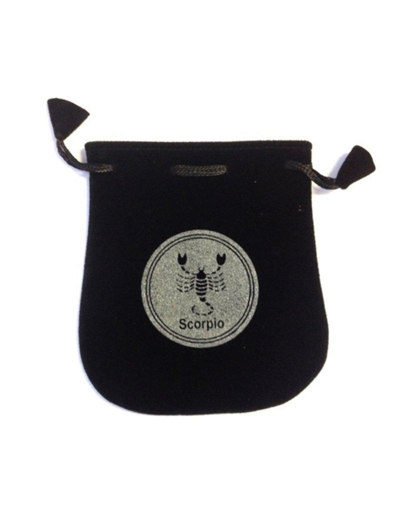 N. Imports Scorpio Velvet Bag