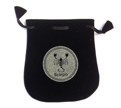 Scorpio Velvet Bag