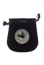 Sagittarius Sign Velvet Bag