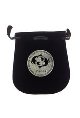 N. Imports Pisces Sign Velvet Bag