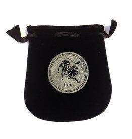 N. Imports Leo Sign Velvet Bag