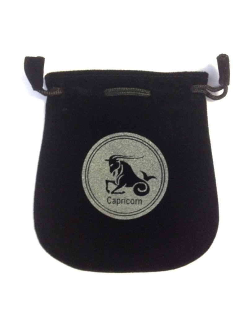 N. Imports Capricorn Sign Velvet Bag