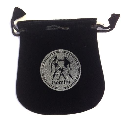 N. Imports Gemini Sign Velvet Bag