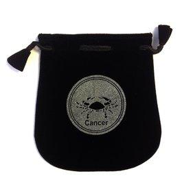 Cancer Sign Velvet Bag