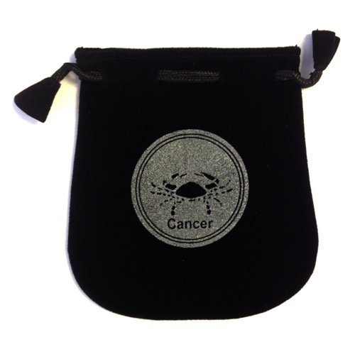 N. Imports Cancer Sign Velvet Bag
