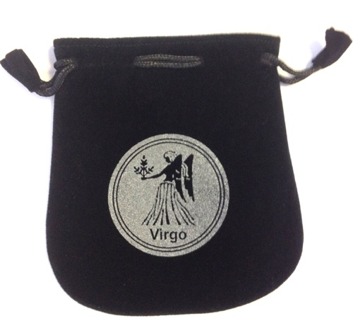 Virgo Sign Velvet Bag