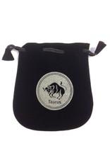 N. Imports Taurus Sign Velvet Bag