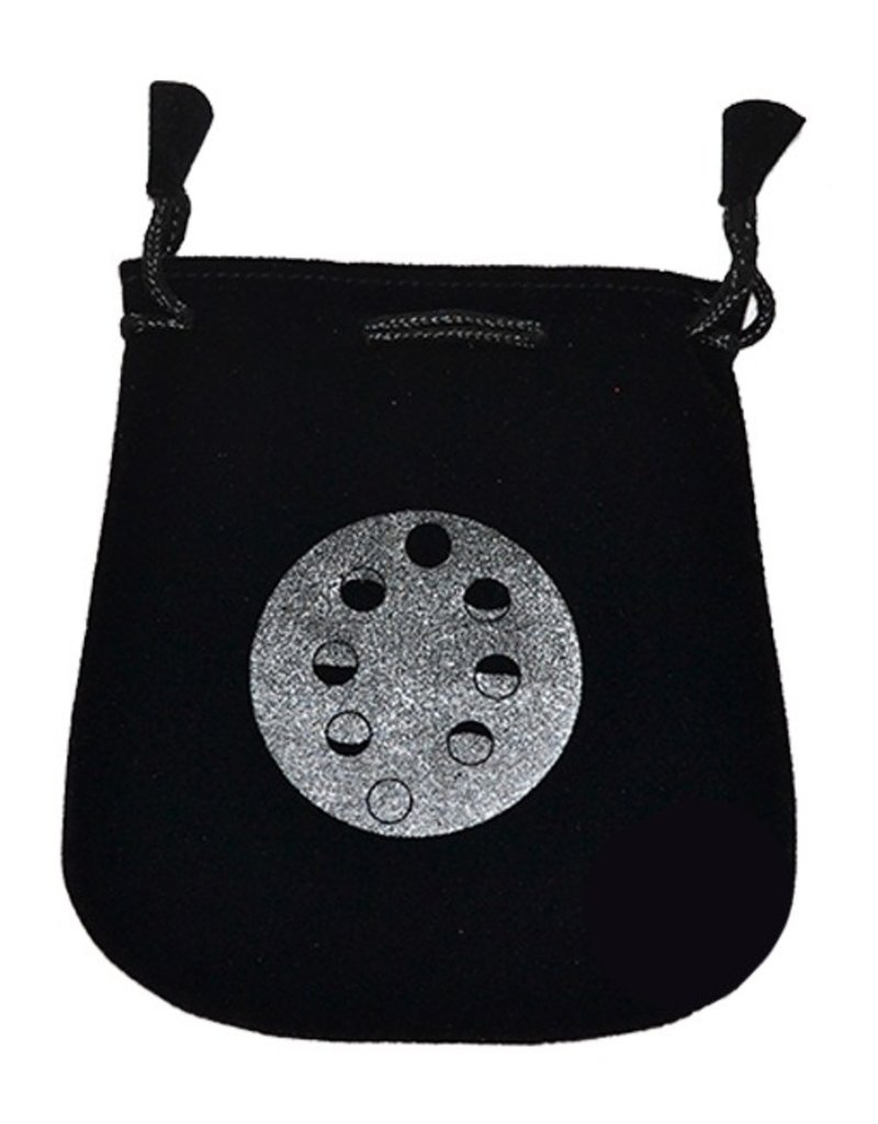 N. Imports Moon Phases Velvet Bag