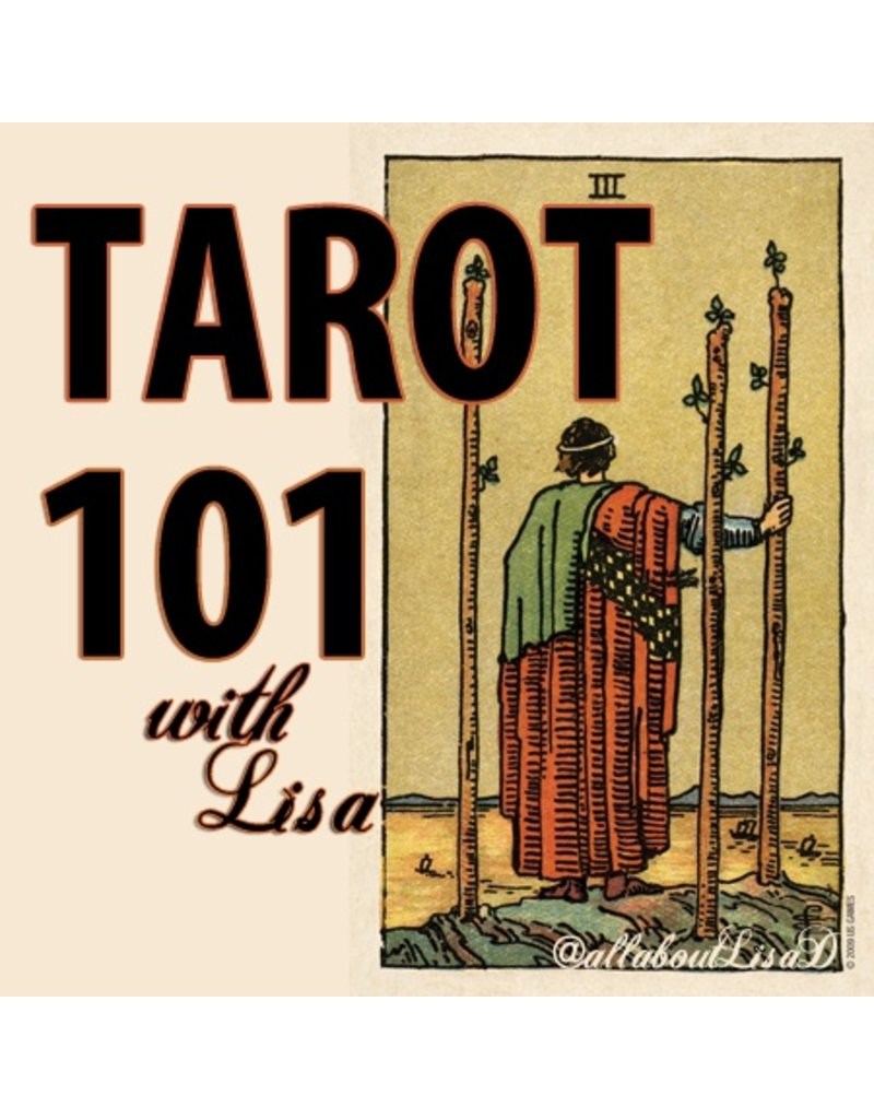 Lee Lee's Valise Tarot 101 Workshop