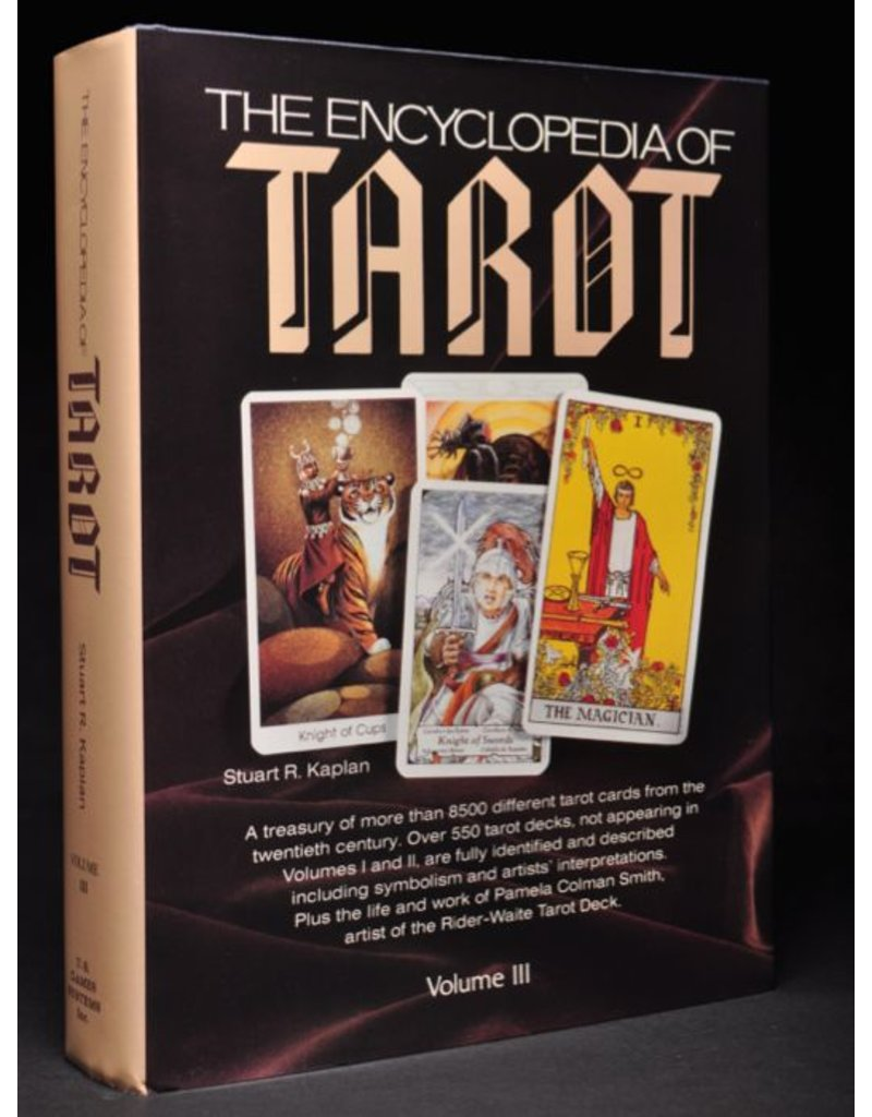 U.S. Game Systems, Inc. Encyclopedia of Tarot, Volume III