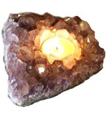 Amethyst Tealight Candle Holder