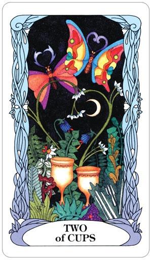 U.S. Game Systems, Inc. Tarot of the Moon Garden