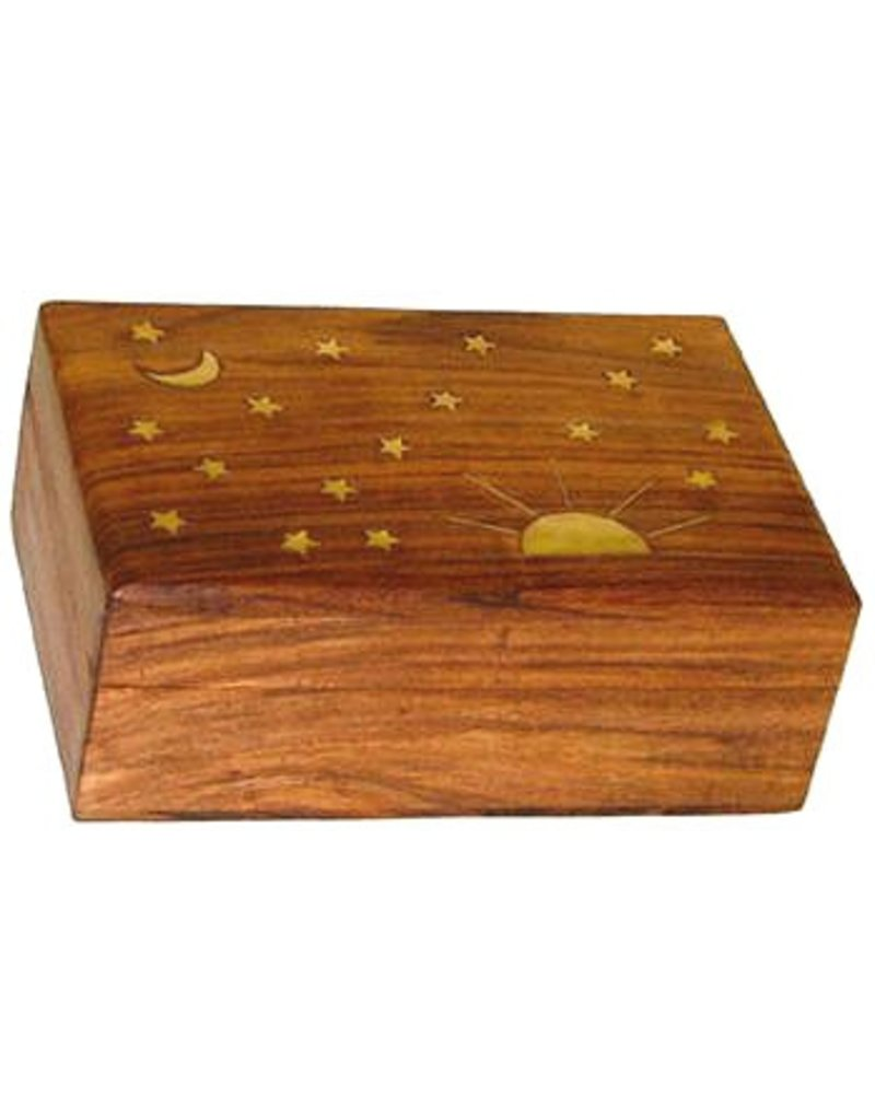 Stars and Moon Box