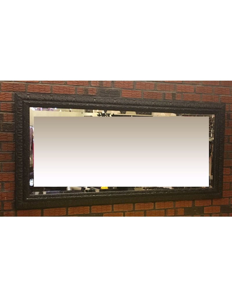 Lee Lee's Valise Large Rectangle Wall Mirror With Detailed Edges