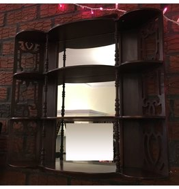 Lee Lee's Valise Antique Lattice Hanging Wood Wall Mirror