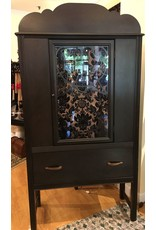 Lee Lee's Valise Depression Era: China Closet with Glass Door