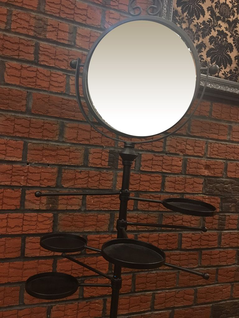 Lee Lee's Valise Decorative Display with Mirror and Large Base