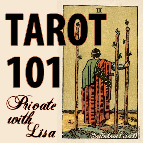 Lee Lee's Valise Tarot 101 Workshop - A Private Class with Lisa