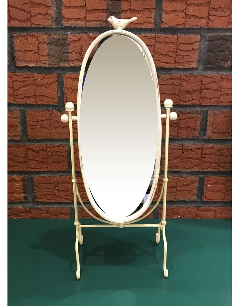 Lee Lee's Valise Oval Bird Mirror on Stand
