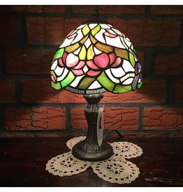 Lee Lee's Valise Tiffany Style Lamp
