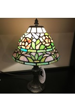 Lee Lee's Valise Tiffany Style Lamp Tiered Shape