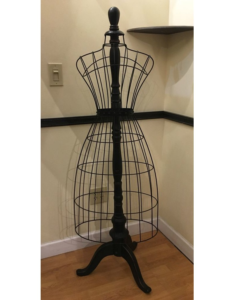 Lee Lee's Valise Wire and Wood Dress Form