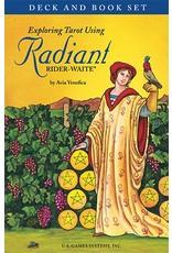 Exploring Tarot Using Radiant Rider-Waite Deck and Book Set