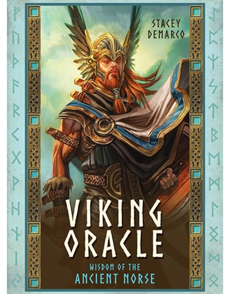 U.S. Game Systems, Inc. Wisdom of the Ancient Norse Oracle Cards