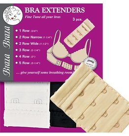 Braza Bra Extenders-3 Piece Package