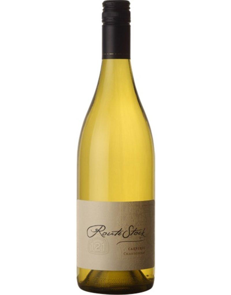 "Wine Chardonnay ""Route 121"",  Routestock Cellars, CA, 2014"