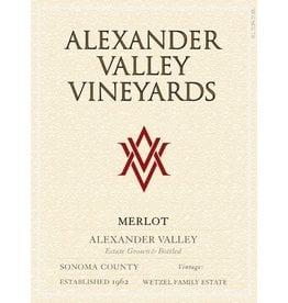 "Wine Merlot ""Estate"", Alexander Valley Vineyards, CA, 2014"