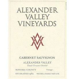 Wine Cabernet Sauvignon, Alexander Valley Vineyards, CA, 2015